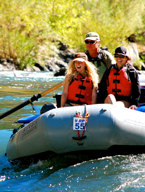 Rogue River Rafting Vacations with Rogue River Journeys